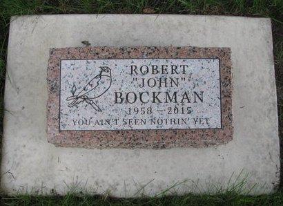 BOCKMAN, ROBERT JOHN - Emmet County, Iowa | ROBERT JOHN BOCKMAN