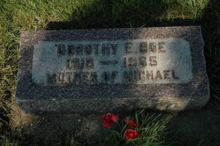 BOE, DOROTHY E. - Emmet County, Iowa | DOROTHY E. BOE