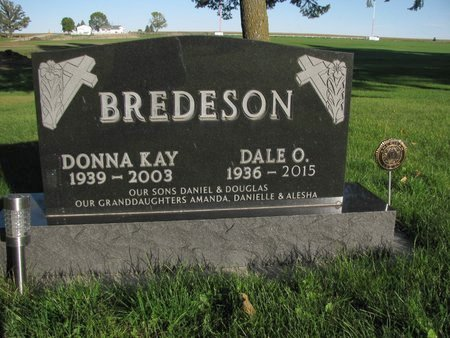 BREDESON, DONNA KAY - Emmet County, Iowa   DONNA KAY BREDESON