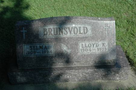 BRUNSVOLD, LLOYD K. - Emmet County, Iowa | LLOYD K. BRUNSVOLD