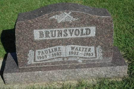 BRUNSVOLD, WALTER - Emmet County, Iowa | WALTER BRUNSVOLD