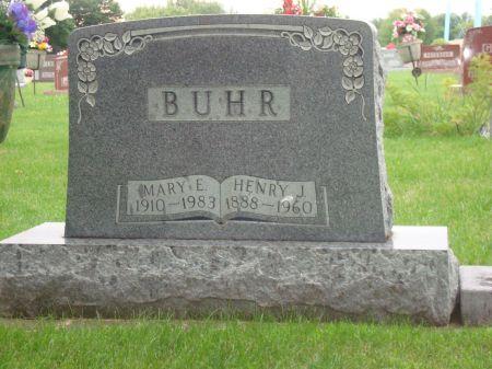 JUHL BUHR, MARY E. - Emmet County, Iowa   MARY E. JUHL BUHR