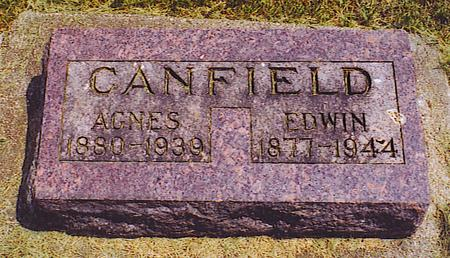 CANFIELD, AGNES - Emmet County, Iowa | AGNES CANFIELD