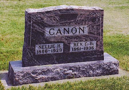 CANON, NELLIE - Emmet County, Iowa | NELLIE CANON