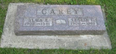 CAREY, ALMA E. - Emmet County, Iowa | ALMA E. CAREY