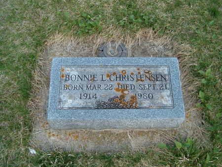 CHRISTENSEN, BONNIE L. - Emmet County, Iowa   BONNIE L. CHRISTENSEN