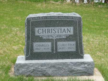 CHRISTIAN, CHARLES - Emmet County, Iowa | CHARLES CHRISTIAN
