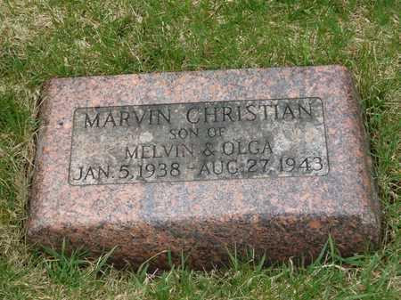 CHRISTIAN, MARVIN - Emmet County, Iowa | MARVIN CHRISTIAN