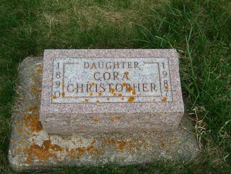 CHRISTOPHER, CORA - Emmet County, Iowa | CORA CHRISTOPHER