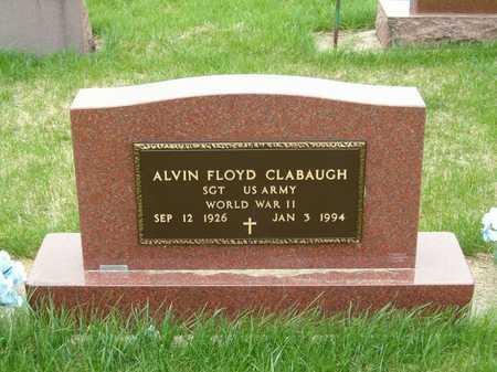 CLABAUGH, ALVIN FLOYD - Emmet County, Iowa   ALVIN FLOYD CLABAUGH