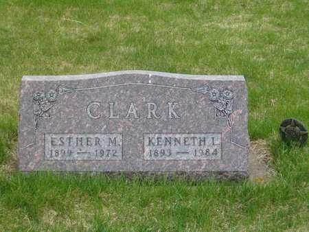 CLARK, KENNETH L. - Emmet County, Iowa | KENNETH L. CLARK