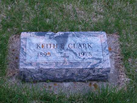CLARK, KEITH E. - Emmet County, Iowa | KEITH E. CLARK