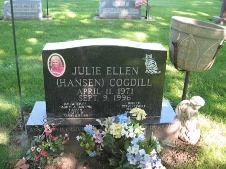 HANSEN COGDILL, JULIE ELLEN - Emmet County, Iowa   JULIE ELLEN HANSEN COGDILL