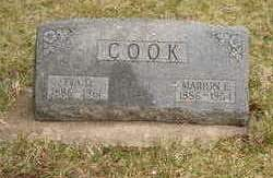 COOK, MARION E. - Emmet County, Iowa | MARION E. COOK