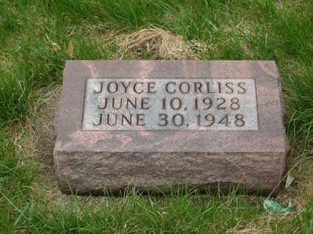 CORLISS, JOYCE - Emmet County, Iowa | JOYCE CORLISS