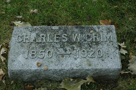 CRIM, CHARLES W. - Emmet County, Iowa | CHARLES W. CRIM