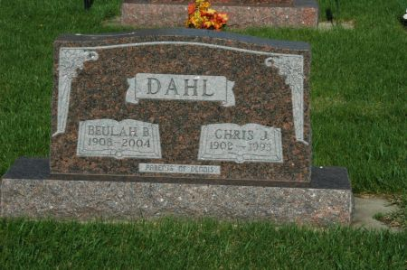 DAHL, CHRIS J. - Emmet County, Iowa | CHRIS J. DAHL