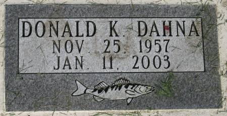 DAHNA, DONALD K. - Emmet County, Iowa | DONALD K. DAHNA