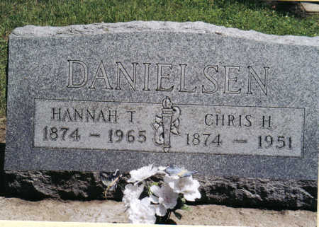 DANIELSEN, CHRIS H. - Emmet County, Iowa | CHRIS H. DANIELSEN