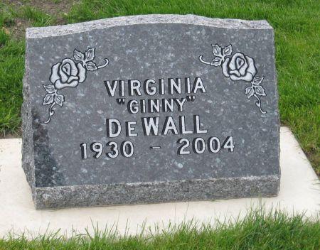 DEWALL, VIRGINIA - Emmet County, Iowa | VIRGINIA DEWALL