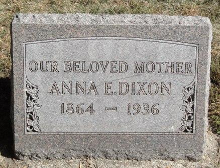DIXON, ANNA E. - Emmet County, Iowa | ANNA E. DIXON