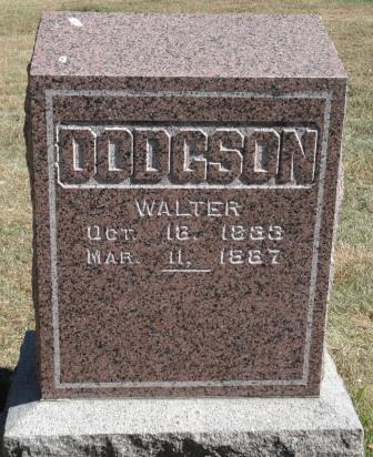 DODGSON, WALTER - Emmet County, Iowa | WALTER DODGSON