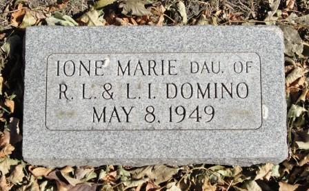 DOMINO, IRENE MARIE - Emmet County, Iowa | IRENE MARIE DOMINO