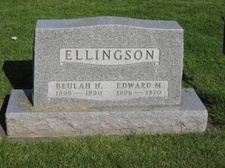 ELLINGSON, BEULAH H. - Emmet County, Iowa | BEULAH H. ELLINGSON