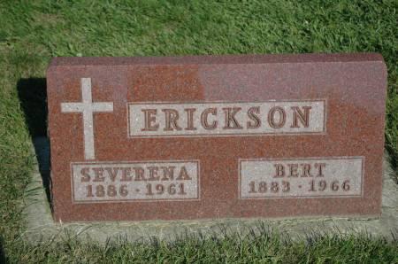 ERICKSON, BERT - Emmet County, Iowa | BERT ERICKSON