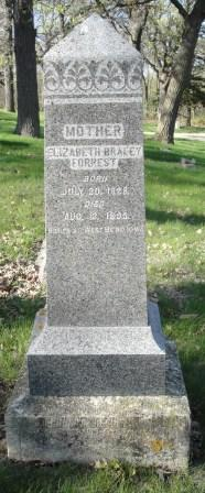 FORREST, ELIZABETH - Emmet County, Iowa | ELIZABETH FORREST
