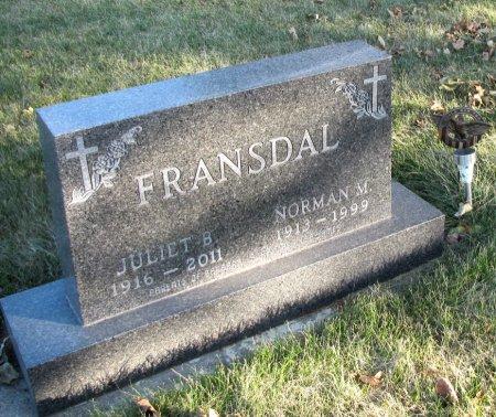 FRANSDAL, JULIET B. - Emmet County, Iowa | JULIET B. FRANSDAL