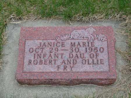 FRY, JANICE - Emmet County, Iowa | JANICE FRY