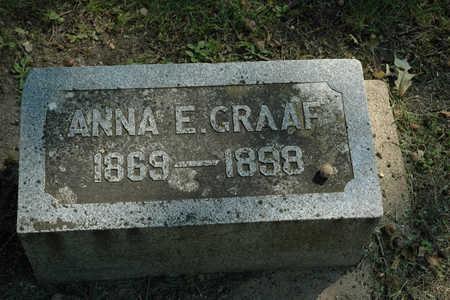 GRAAF, ANNA E. - Emmet County, Iowa | ANNA E. GRAAF