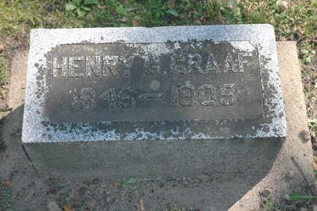 GRAAF, HENRY G. - Emmet County, Iowa | HENRY G. GRAAF