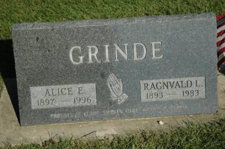 GRINDE, RAGNVALD L. - Emmet County, Iowa | RAGNVALD L. GRINDE