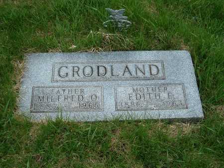 GRODLAND, MILFRED O. - Emmet County, Iowa | MILFRED O. GRODLAND