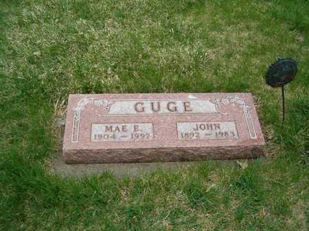 GUGE, MAE E. - Emmet County, Iowa | MAE E. GUGE