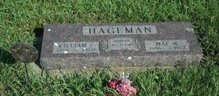 ROSBURG HAGEMAN, MAE M. - Emmet County, Iowa | MAE M. ROSBURG HAGEMAN
