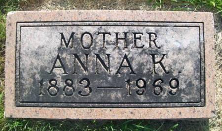 SMIDT HANSEN, ANNA KRISTINA - Emmet County, Iowa | ANNA KRISTINA SMIDT HANSEN