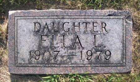 HANSEN, ELLA L - Emmet County, Iowa | ELLA L HANSEN
