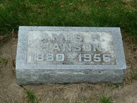 HANSON, AMOS - Emmet County, Iowa | AMOS HANSON