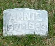 HANSON, ANNIE - Emmet County, Iowa   ANNIE HANSON