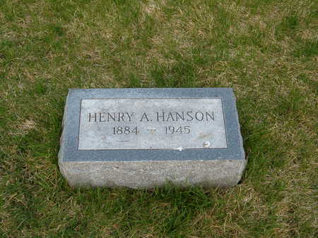 HANSON, HENRY A. - Emmet County, Iowa | HENRY A. HANSON