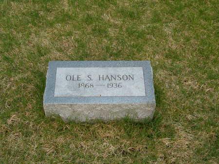 HANSON, OLE  S. - Emmet County, Iowa | OLE  S. HANSON