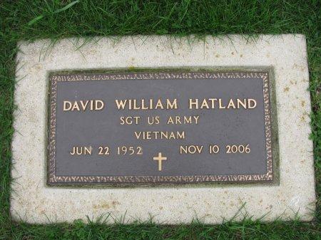 HATLAND, DAVID WILLIAM - Emmet County, Iowa | DAVID WILLIAM HATLAND