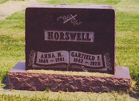HORSWELL, GARFIELD STAPLETON - Emmet County, Iowa | GARFIELD STAPLETON HORSWELL