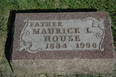 HOUSE, MAURICE L. - Emmet County, Iowa | MAURICE L. HOUSE