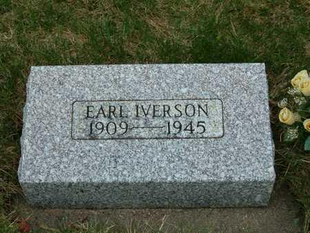 IVERSON, EARL - Emmet County, Iowa | EARL IVERSON