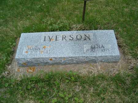 IVERSON, LENA - Emmet County, Iowa | LENA IVERSON