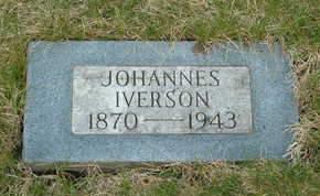 IVERSON, JOHANNES - Emmet County, Iowa | JOHANNES IVERSON